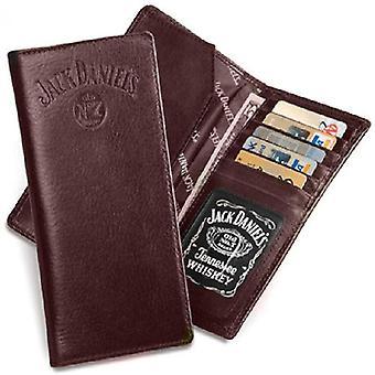 Portefeuille en cuir brun de style Rodeo Jack Daniel-apos;s Rodeo Style