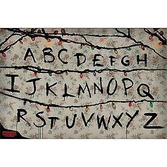 Stranger Things, Affiche Maxi - R, U, N