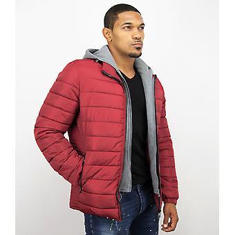 Short Coat Men – Casual Jack – Red