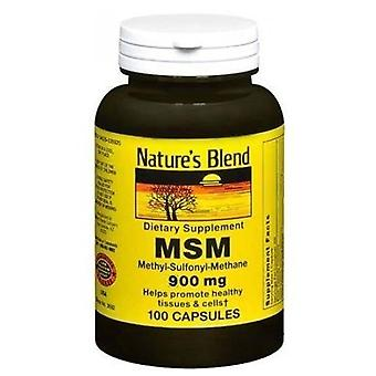 Nature's blend msm 900 mg, capsules, 100 ea