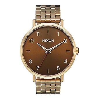 Nixon women's Quartz analogue watch with stainless steel band A1090-2803-00