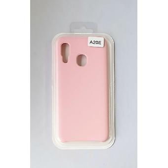 Silicone Cover Case for Samsung A20e Pink