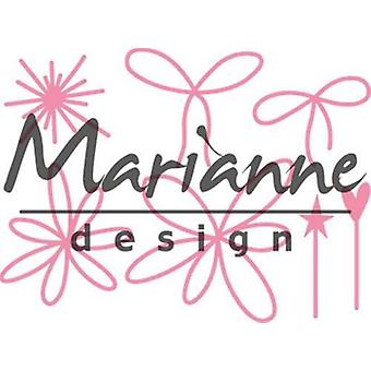 Marianne Design Collectables Cutting Dies - Giftwrapping Karin's Pins & Bows COL1441