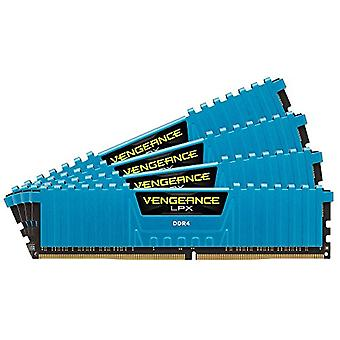 Corsair Vengeance LPX High Performance Desktop Memories, 16 GB (4 X 4 GB), DDR4, 2666 MHz, C16 XMP 2.0, Blue