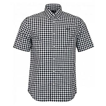 Fred Perry Authentics Two Colour Gingham Check Shirt