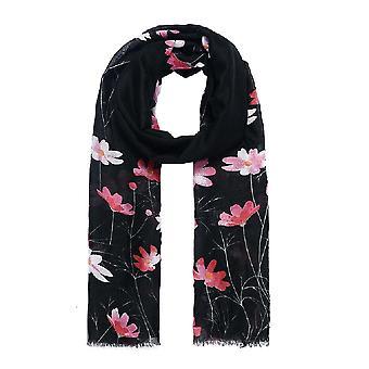 Jewelcity Womens/Ladies Meadow Floral Print Scarf