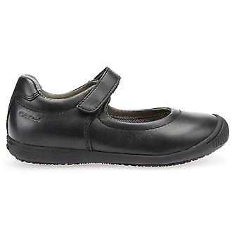 Geox filles Gioia 2 J643CA Fit école chaussures noir