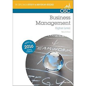Business and Management HL (New edition) by Paul Clark - 978191068924