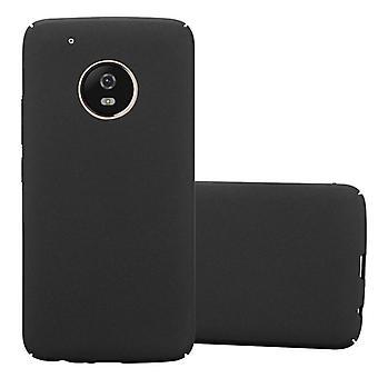 Futerał Cadorabo do obudowy Motorola MOTO G5 PLUS - obudowa na telefon z tworzywa sztucznego Hardcase przed zadrapaniami i nierównościami - Obudowa ochronna Ultra Slim Back Case Hard Cover