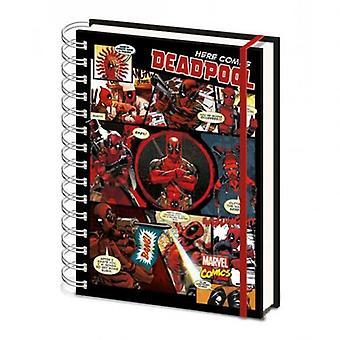Deadpool A5 Notebook