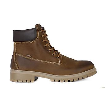 IGI&CO Nabuck Ingrassato Senape 8716 trekking all year men shoes