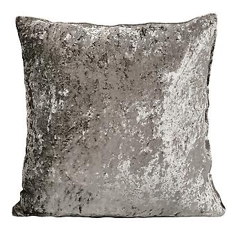 Sofa pillow, square pillowcase is soft, ice velvet pillow with brown pillow core, sofa bedroom car