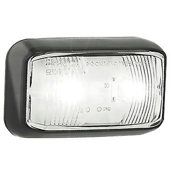 TechBrands White Vehicle Clearance Lights Trailers & Caravans (12/24V)