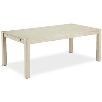 Furnhouse Texas Rectangular Dining Table, Solid Oak, Soap Finish, 140x90x75 cm