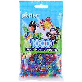 Perler Beads 1,000/Pkg-Glitter Mix