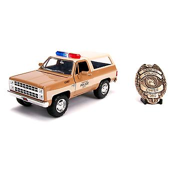 Stranger Things 1980 Chevy K5 Blazer 1:24 Hollywood Ride