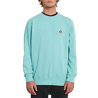 Volcom Men's Crew Neck Sweater ~ Notrama  green