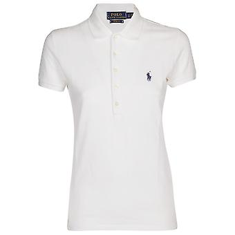 Ralph Lauren 211505654b Dames's White Cotton Polo Shirt