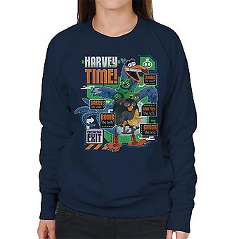 Angry Birds Harvey Time Women's Sweatshirt