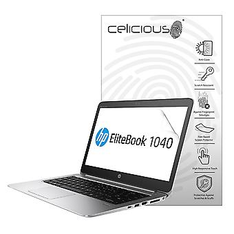 Celicious Matte Anti-Glare Screen Protector Film Compatible with HP EliteBook Folio 1040 G3 (Touch) [Pack of 2]