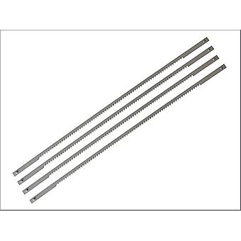 Stanley 015061 Coping Saw Blades 165mm (6.3/4in) 14tpi Card (4)