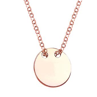Ah! Jewellery Solid Circle Layered Style Pendant Necklace