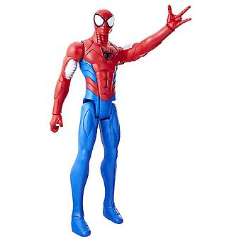 Marvel Spiderman Titan Hero Series Armored Spider-Man Figura