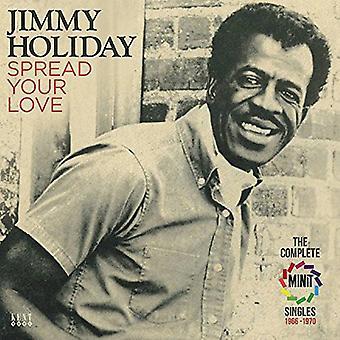 Jimmy Holiday - spre kjærlighet: Komplett Minit singler 1966-70 [DVD] USA import