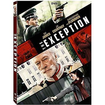 Poikkeus [DVD] USA tuonti