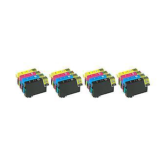 RudyTwos 4x Replacement for Epson PolarBear Set Ink Unit HighYieldBlackPhotoBlackCyanYellow&Magenta Compatible with Expression Premium XP-510, XP-520, XP-600, XP-605, XP-610, XP-615, XP-620, XP-625, X
