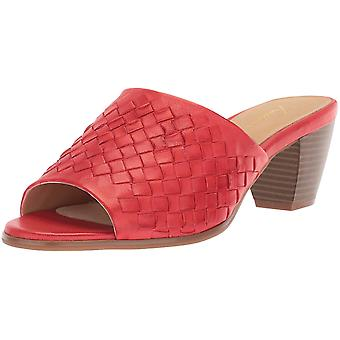 Trotters Womens Corsa Leather Open Toe Casual Slide Sandals