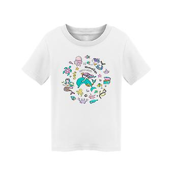 Under The Sea Design Tee Toddler's -Image by Shutterstock