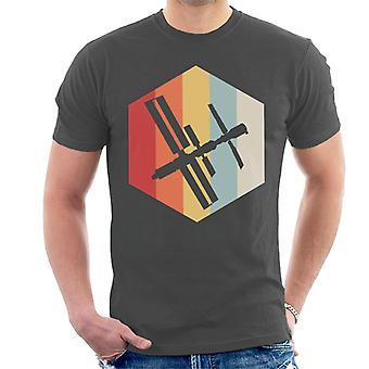 NASA ISS Silhouette Logo Men's T-Shirt