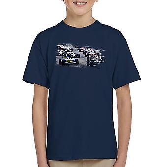 Motorsport Images San Marino GP 2005 Starting Shot Kid's T-Shirt