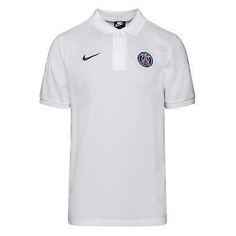 2020-2021 PSG Core Polo Shirt (Vit)