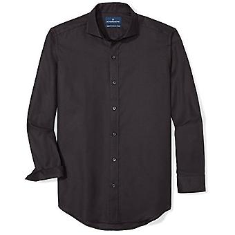 BUTTONED DOWN Männer's Maßgeschneiderte Fit Supima Baumwolle Cutaway-Collar Kleid Casual Sh...