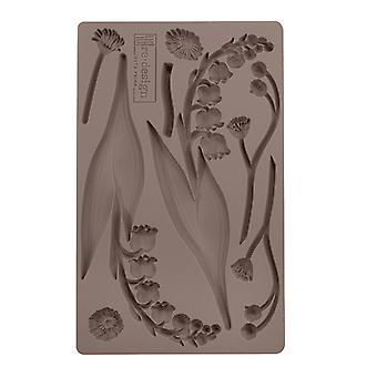 Re-Design met Prima Bell Orchids 5x8 Inch Mould