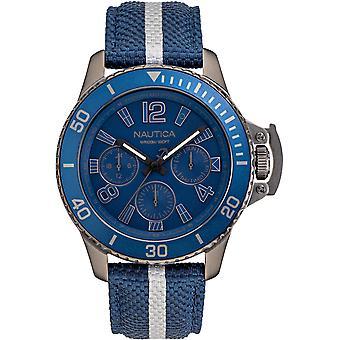 NAPBSF919, Náutica Bayside Multi Mens Watches -Azul