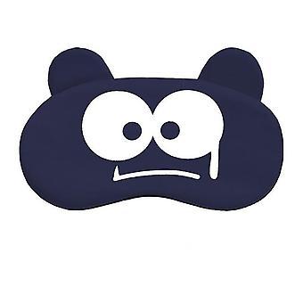 Cartoon Gesicht Schlaf Augenmaske - süße Augenbinde Abdeckung zum Schlafen