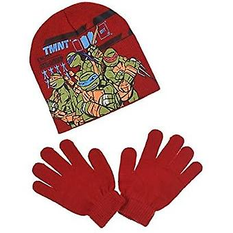 Ninja turtles boys hat and gloves set njt4226hg