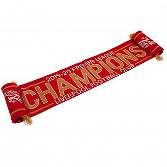 Liverpool Premier League Champions Scarf