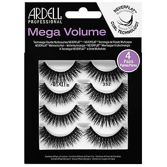 Ardell Mega Volume Multi Layered Reusable Lashes Multipack - 252 - 4 Pairs