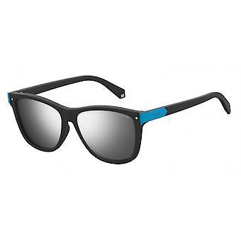 نظارات شمسية للجنسين 6035/S003/EX أسود/فضة
