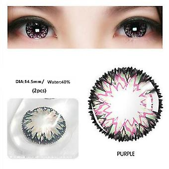 MilkShak Grass Colored Contact Lens Cosmetic Contact Lenses Eye Color