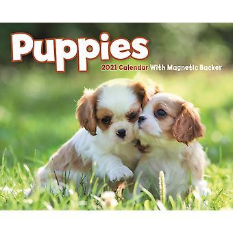 Puppies Mini Box Calendar 2021