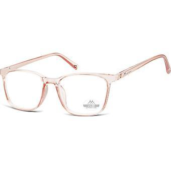 Lesebrille Unisex  HMR56 rosa/transparente Stärke +3,50