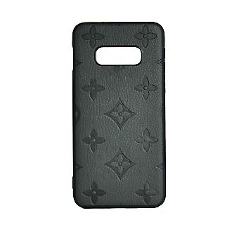 Phone Case Shockproof Cover Monogram GG For Samsung S10 (Grey)