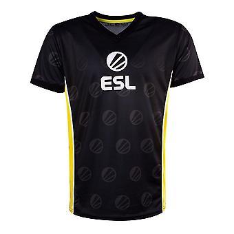 ESL Victory E-Sports Jersey Male Large Black/Yellow (TS331034ESL-L)
