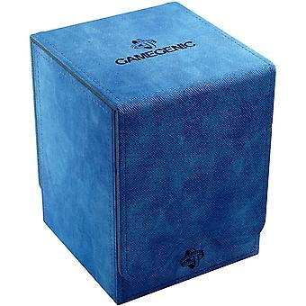 Gamegenic Squire 100-card Convertible Deck Box Niebieski