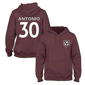 Michail Antonio 30 West Ham Style Player Football Hoodie